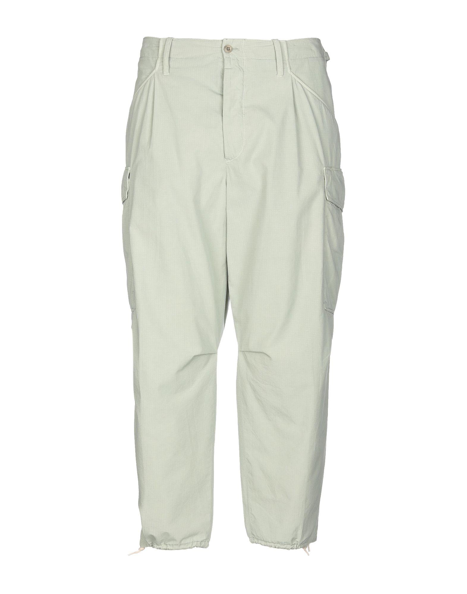 《セール開催中》CELLAR DOOR メンズ パンツ ライトグリーン 50 コットン 100%