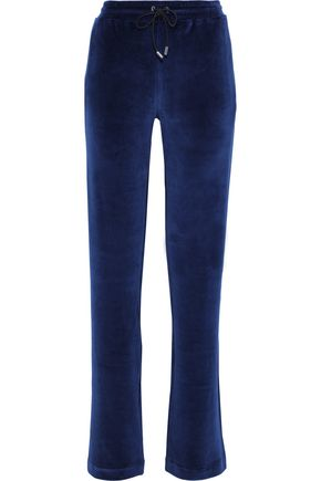 000a82cd Cotton-blend velvet track pants | VERSACE | Sale up to 70% off | THE ...