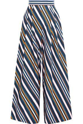 ANCIENT GREEK SANDALS x PETER PILOTTO Striped cotton wide-leg pants