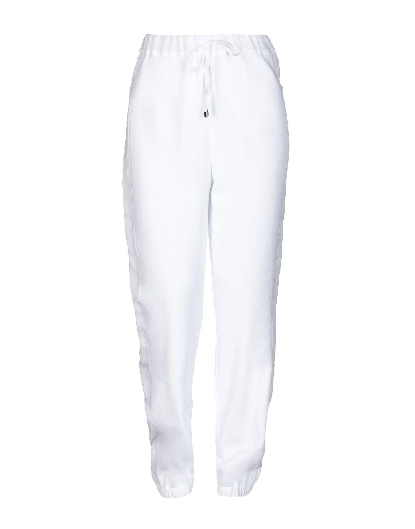 《セール開催中》LIVIANA CONTI レディース パンツ ホワイト M コットン 100% / レーヨン