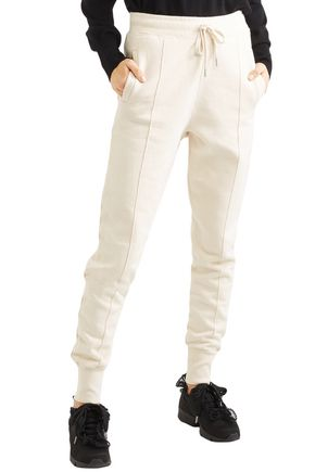 GANNI Lott Isoli cotton-jersey track pants