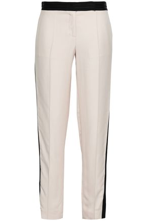 AMANDA WAKELEY Crepe tapered pants