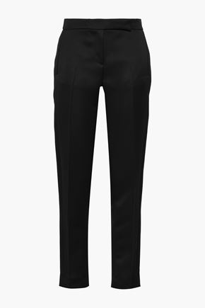 AMANDA WAKELEY Satin tapered pants