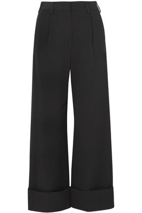 MM6 MAISON MARGIELA Faille wide-leg pants