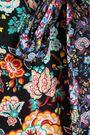 FRAME Floral-print crepe wide-leg pants