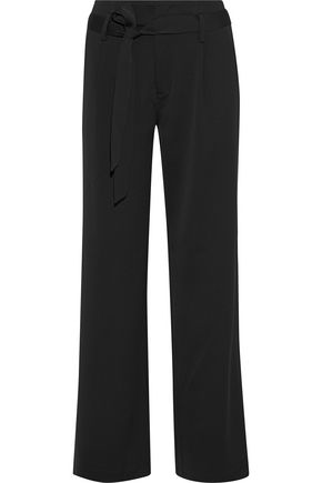 IRIS & INK Faith satin-crepe wide-leg pants