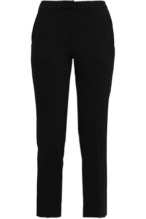 BA&SH Cropped cady slim-leg pants