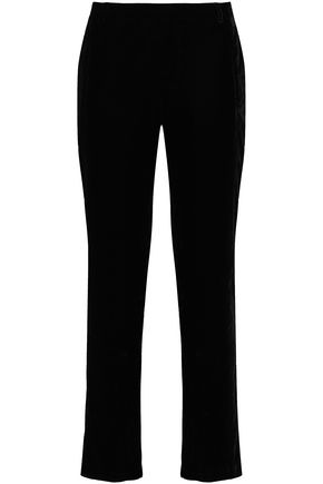BA&SH Velvet straight-leg pants