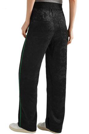 MAJE Jacquard straight-leg pants
