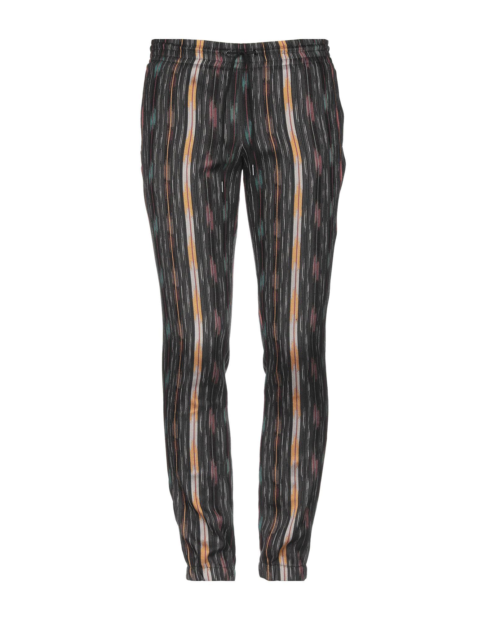 《セール開催中》SAINT LAURENT メンズ パンツ ブラック 44 コットン 84% / シルク 16%