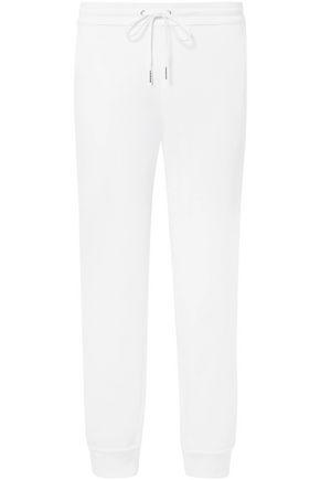ELIZABETH AND JAMES Cotton-fleece tapered pants