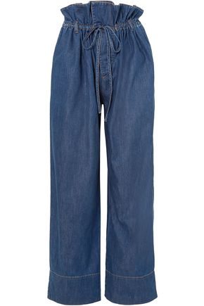STELLA McCARTNEY High-rise wide-leg jeans