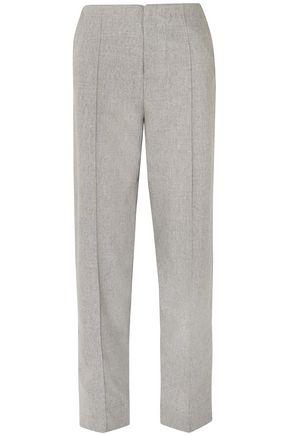 GEORGIA ALICE Wool-blend straight-leg pants