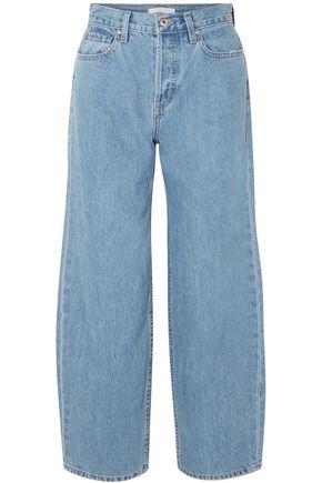 JONATHAN SIMKHAI Nana high-rise wide-leg jeans