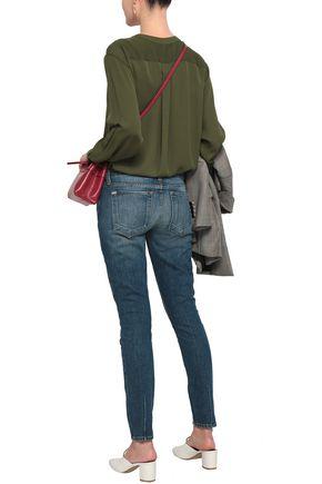 ALICE + OLIVIA Mid-rise skinny jeans
