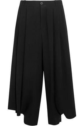 CHLOÉ Cropped crepe wide-leg pants