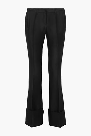 ROKH Wool-blend twill straight-leg pants