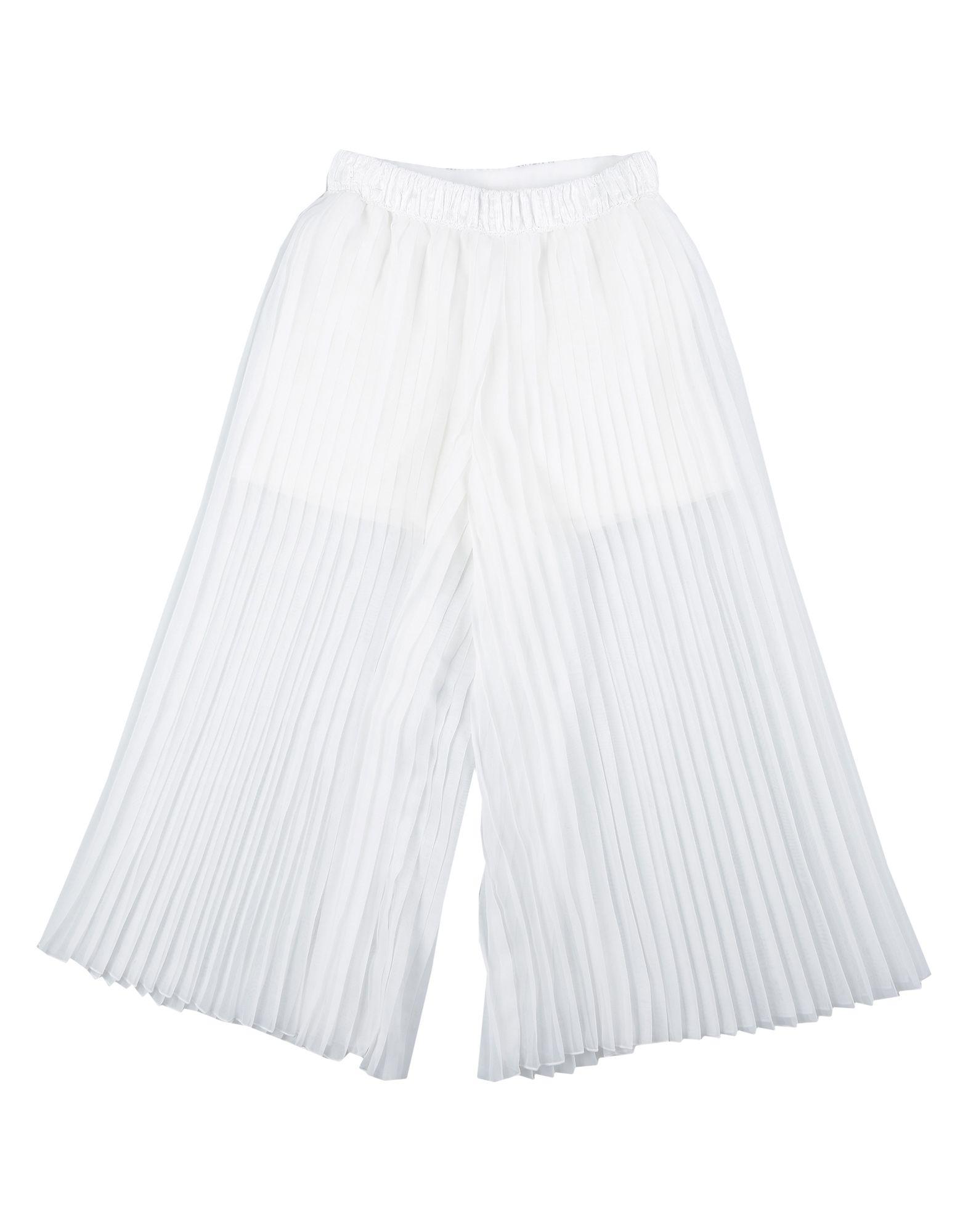 《セール開催中》LOREDANA PRIMA ガールズ 3-8 歳 パンツ ホワイト 8 ポリエステル 100%