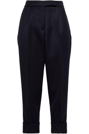 THOM BROWNE Wool-twill tapered pants
