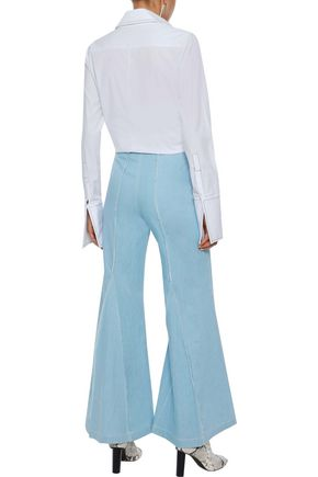 PAPER London Encore high-rise flared jeans