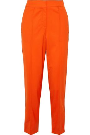 PROENZA SCHOULER Pleated stretch-wool tapered pants