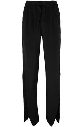 ROLAND MOURET Askern silk straight-leg pants