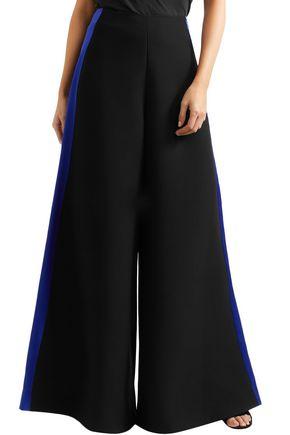 pantalones martillado recortado Cady satinado pierna de ancha Roksanda RaIq61d6