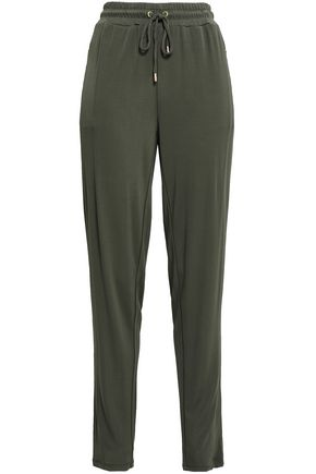 MICHAEL MICHAEL KORS Stretch-crepe track pants