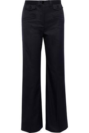 ALEXACHUNG Twill bootcut pants