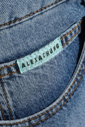 ALEXACHUNG Pacifico mid-rise flared jeans