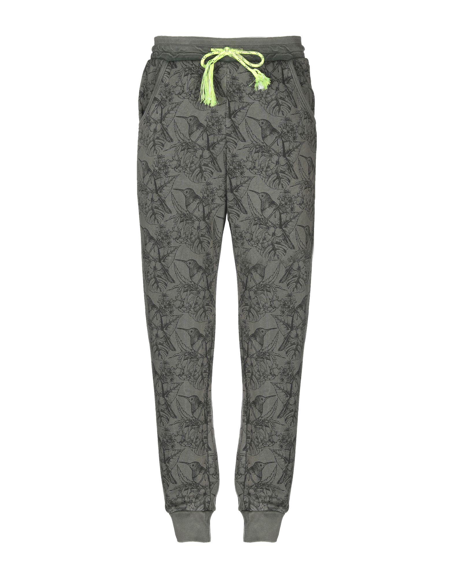 《セール開催中》BERNA メンズ パンツ ミリタリーグリーン XL コットン 100%