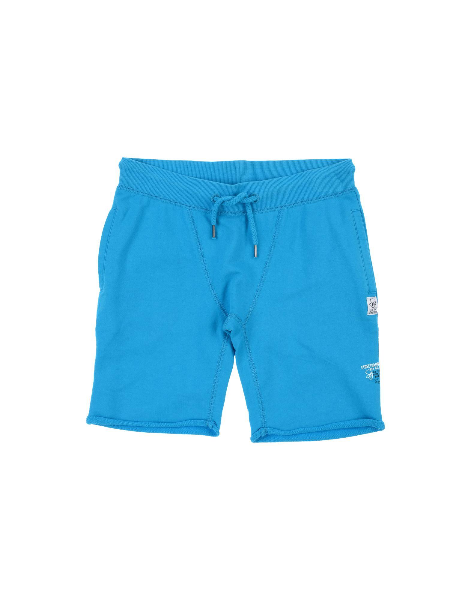 Street Gang Kids' Bermudas In Blue