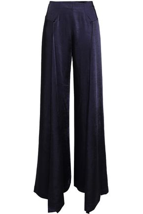 PAPER London Charmeuse wide-leg pants