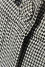 ALEXACHUNG Houndstooth wool-blend bootcut pants