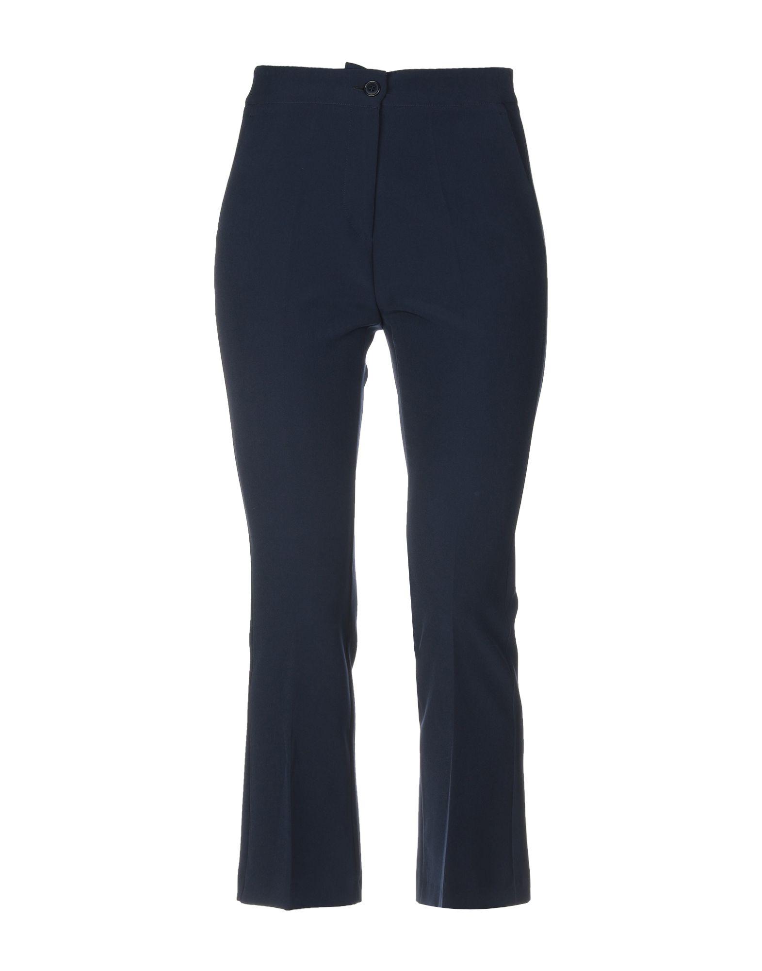 SPAGO DONNA Повседневные брюки брюки viaggio donna цвет синий