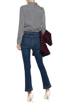 VERONICA BEARD Carolyn mid-rise bootcut jeans