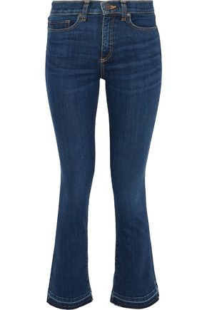 VERONICA BEARD Carolyn mid-rise bootcut jeans