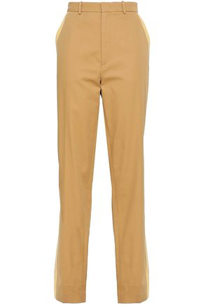JOSEPH Cotton-twill straight-leg pants