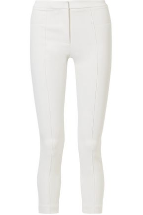 ADAM LIPPES Stretch-cady skinny pants