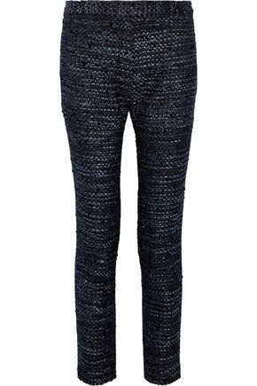 ELLERY Synopsis metallic tweed slim-leg pants