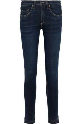 VERONICA BEARD Brooke low-rise skinny jeans