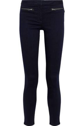 VERONICA BEARD Cropped modal-blend skinny pants