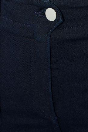 VERONICA BEARD Field cropped modal-blend twill skinny pants