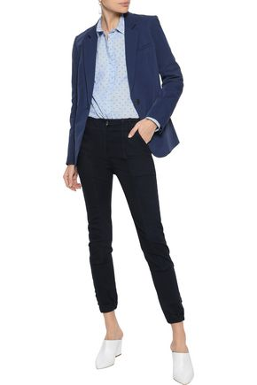 860b157acf17 VERONICA BEARD Field cropped modal-blend twill skinny pants