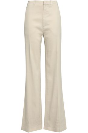 JOSEPH Stretch-twill wide-leg pants
