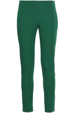 JOSEPH Stretch-cotton twill slim-leg pants