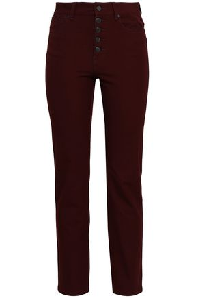 JOSEPH Stretch-gabardine slim-leg pants
