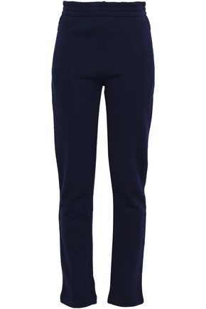 JOSEPH French cotton-terry slim-leg pants