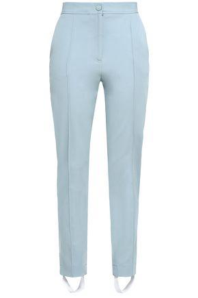 JOSEPH Cropped twill slim-leg pants