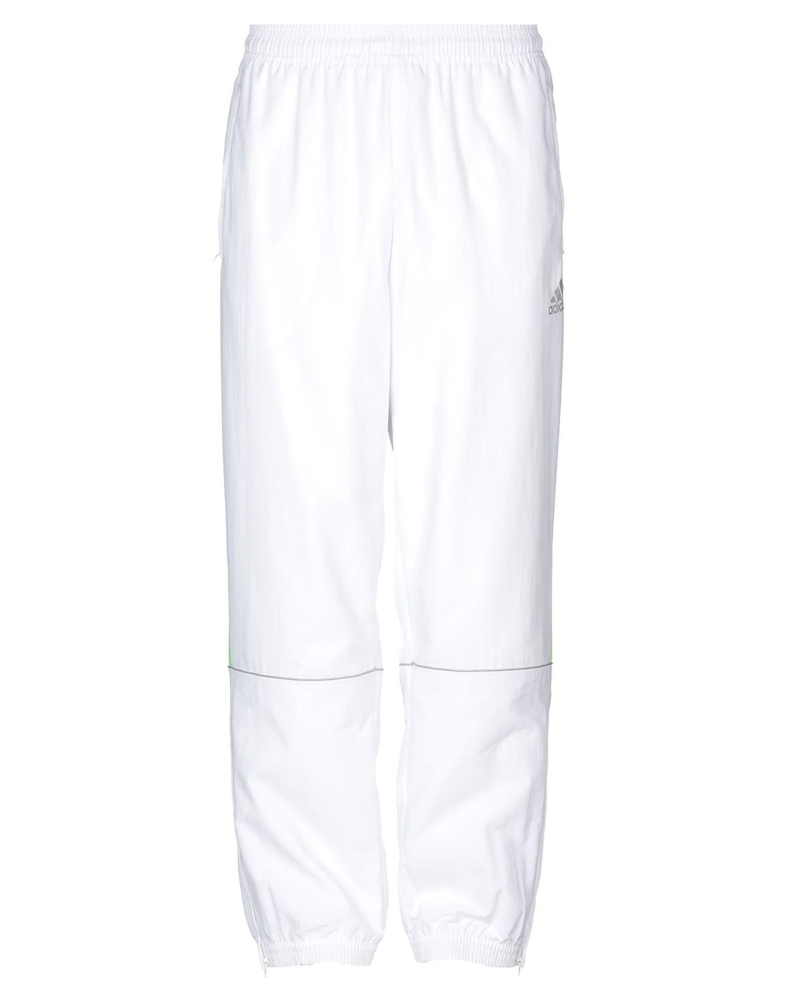 《送料無料》ADIDAS メンズ パンツ ホワイト XL ナイロン 100%